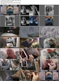 Уроки Tutorial of the Week – Conceiving and Creating the Hellboy Movie Poster Art by Drew Struzan