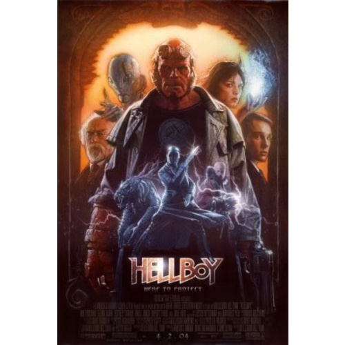 Tutorial of the Week – Conceiving and Creating the Hellboy Movie Poster Art by Drew Struzan